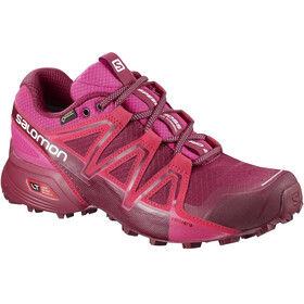 Salomon Speedcross Vario 2 GTX Running Shoes Women red